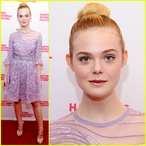 Elle Fanning Brings '20th Century Woman' to Hamptons Film Festival!