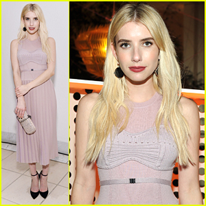 Emma Roberts Steps Out For Hammer Museum's Gala in The Garden 2016