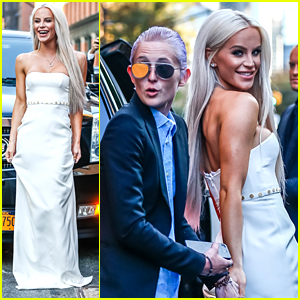 Gigi Gorgeous Brings Girlfriend Nats Getty to UN Dinner in NYC
