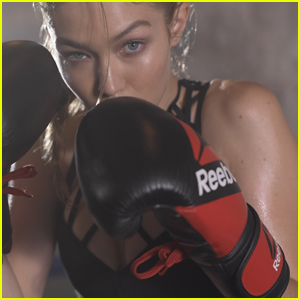 Gigi Hadid Is The Face of Reebok's #PerfectNever Campaign