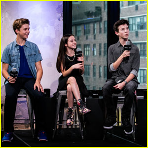 Griffin Gluck Promotes 'Middle School' With the Cast in NYC!