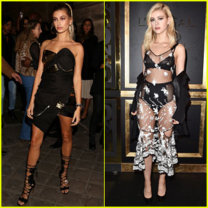 Hailey Baldwin, Nicola Peltz, & More Party with L'Oreal Paris!
