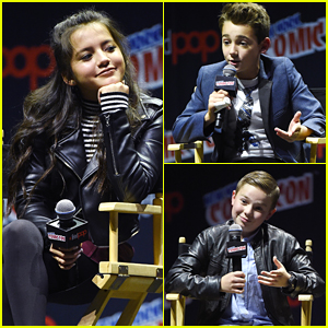Isabela Moner, Colin Critchley & Jet Jurgensmeyer Hit NYCC With 'Legends of the Hidden Temple'