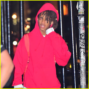 Jaden Smith Hits the Gym in the Middle of the Night!