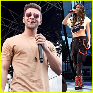 Jake Miller Plays EW's PopFest with Hailee Steinfeld