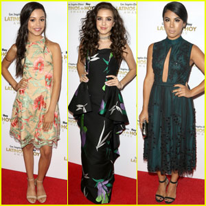 Jenna Ortega & Lilimar Attend Latinos de Hoy Awards 2016