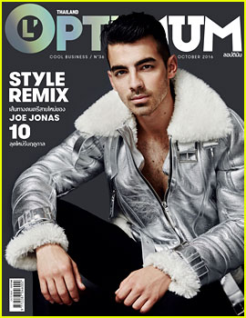 Joe Jonas Takes Cover of 'L'Optimum' for October 2016!