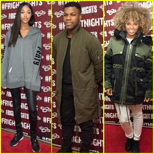 John Boyega, Jourdan Dunn, & Fleur East Get Scared at Launch of 2016 Fright Nights!