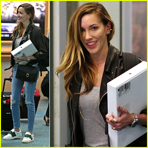 Katie Cassidy Returns To Vancouver For 'Arrow' Filming