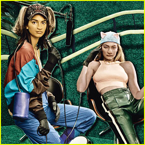 Gigi Hadid & Kendall Jenner Star as 'Placebo Pets' for 'W' Magazine!