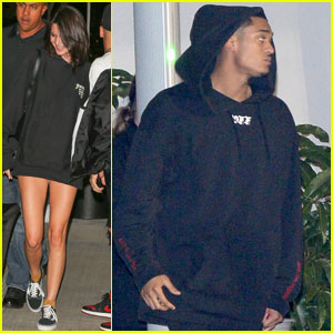 Kendall Jenner Enjoys Fun Night Out at Kanye West's Show With Jordan Clarkson!