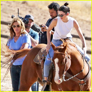 Kendall Jenner Shows Off Horseback Skills While Riding With Caitlyn!