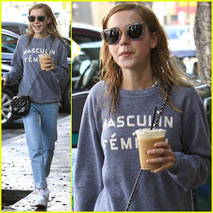 Kiernan Shipka Celebrates Chicago Cubs Win!