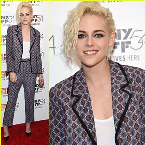 Kristen Stewart Hosts 'An Evening With' Event During NYFF 2016