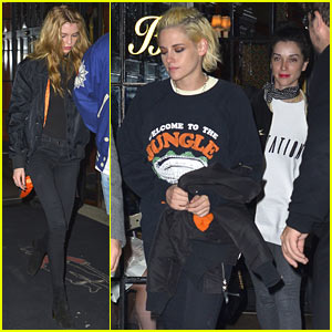 Kristen Stewart Has Night Out With Rumored Girlfriend St. Vincent & Stella Maxwell