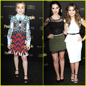 Laura Marano Parties With Sabrina Carpenter at People's Ones To Watch Party After Sharing Sweet Throwback Pics