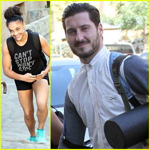 Val Chmerkovskiy Forced Laurie Hernandez To Take A Day Off