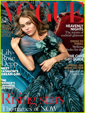 Lily-Rose Depp Covers British Vogue December 2016!