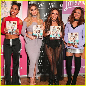 Little Mix Promote Their New Book 'Our World' After 'Shout Out To My Ex' Reaches #1
