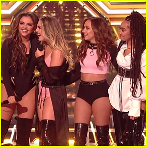 Little Mix Perform New Single 'Shout Out To My Ex' On 'X Factor' - Watch Now!