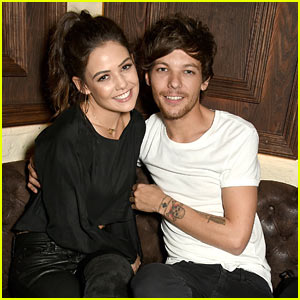 Louis Tomlinson & Girlfriend Danielle Campbell Enjoy Night Out in London!