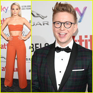 Tyler Oakley & Louisa Johnson Hit the Attitude Awards 2016