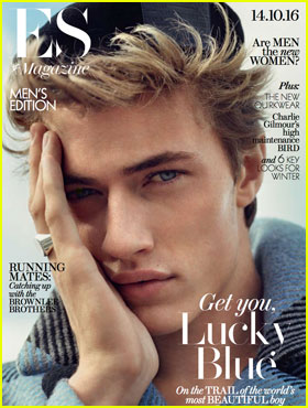 Lucky Blue Smith Still Doesn't Feel Famous
