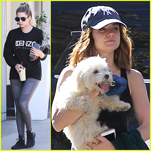 Lucy Hale & Ashley Benson Take a Break From Filming The 'PLL' Series Finale