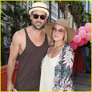 Maksim Chmerkovskiy & Peta Murgatroyd Couple Up To Support Amber Rose in LA