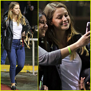 Supergirl's Melissa Benoist Sends Girl Power Vibes to Jane the Virgin's Gina Rodriguez!