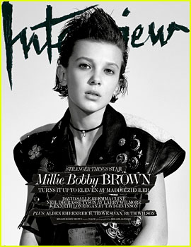 Millie Bobby Brown Reveals Her First Kiss Was With 'Stranger Things' Co-Star!