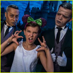 Millie Bobby Brown Takes Her Family to Disney World!