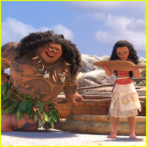Moana Means Business When Meeting Maui In New Clip From The Film - Watch!
