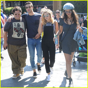 Olivia Holt Hits Up Disneyland With Her 'Status Update' Co-Stars!