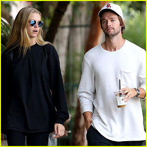 Patrick Schwarzenegger & Abby Champion Have Alfred Coffee Date