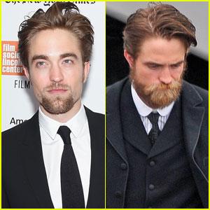 Robert Pattinson Calls His Beard 'Disgusting'
