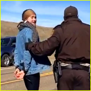 Shailene Woodley's Arrest Was Aired Live on Facebook