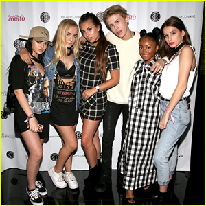 Skai Jackson Parties With Aidan Alexander at BeautyCon NYC's After Party