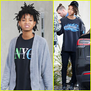 Jaden & Willow Smith Spend the Afternoon with Friends in WeHo