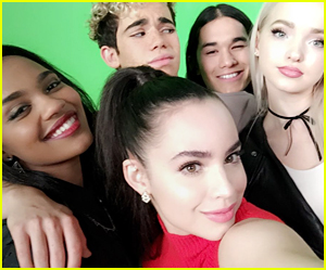 Sofia Carson Shares New 'Descendants 2' Family Pics From Wrap Party