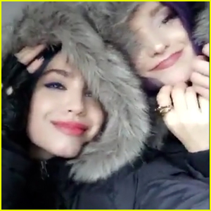 Dove Cameron & Sofia Carson Bid Goodbye To 'Descendants 2'