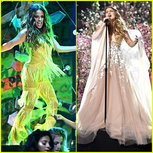 Becky G & Sofia Reyes Pull Off Amazing Performances at Latin AMAs 2016