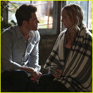 Paul Wesley Says Steroline 'Start Off Pretty Strong' on 'The Vampire Diaries'