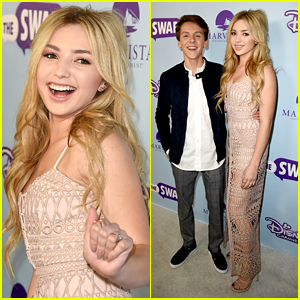 Peyton List & Jacob Bertrand Host Young Hollywood at 'The Swap' Premiere in LA