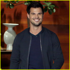 Taylor Lautner Recalls the Time He Got Kissed By a Giraffe!