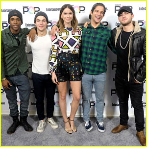 'Teen Wolf' Cast Hits Up Entertainment Weekly's PopFest!