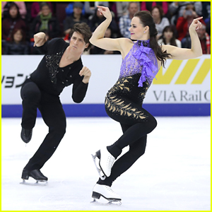 Canada's Tessa Virtue & Scott Moir Return To Ice with Skate Canada 2016