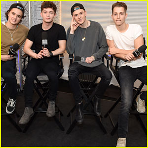 The Vamps Get Weird on AOL Build Series in London