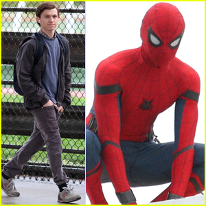 Tom Holland Flips the Cameras on the Paparazzi!
