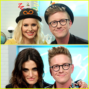 Tyler Oakley Gets 'Frozen' Stars to Reveal Sequel Secrets and More! - Watch
